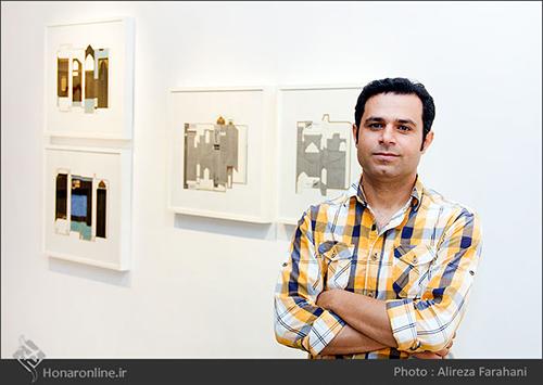 گزارش تصویری نمایشگاه نقاشی مهدی حامدی در گالری هما(16 مرداد94)