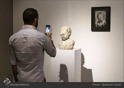 گزارش تصویری نمایشگاه سالانه مجسمه در میانه در گالری شیرین ( 19 تیر 94)