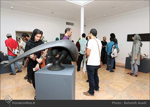 گزارش تصویری نمایشگاه سفالگران معاصر ژاپن در نگارخانه استاد ممیز خانه هنرمندان( 9 مرداد94)