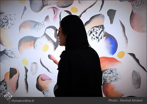 گزارش تصویری مجموعه آثار هنرمند فقید علی ترقیجاه در گالری شکوه ( 9 مرداد94)