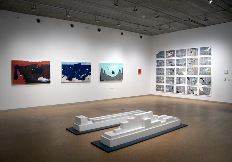 گزارش تصویری آثار دانشجویان دانشگاه هنر ایالت آیوا سیتی امریکا