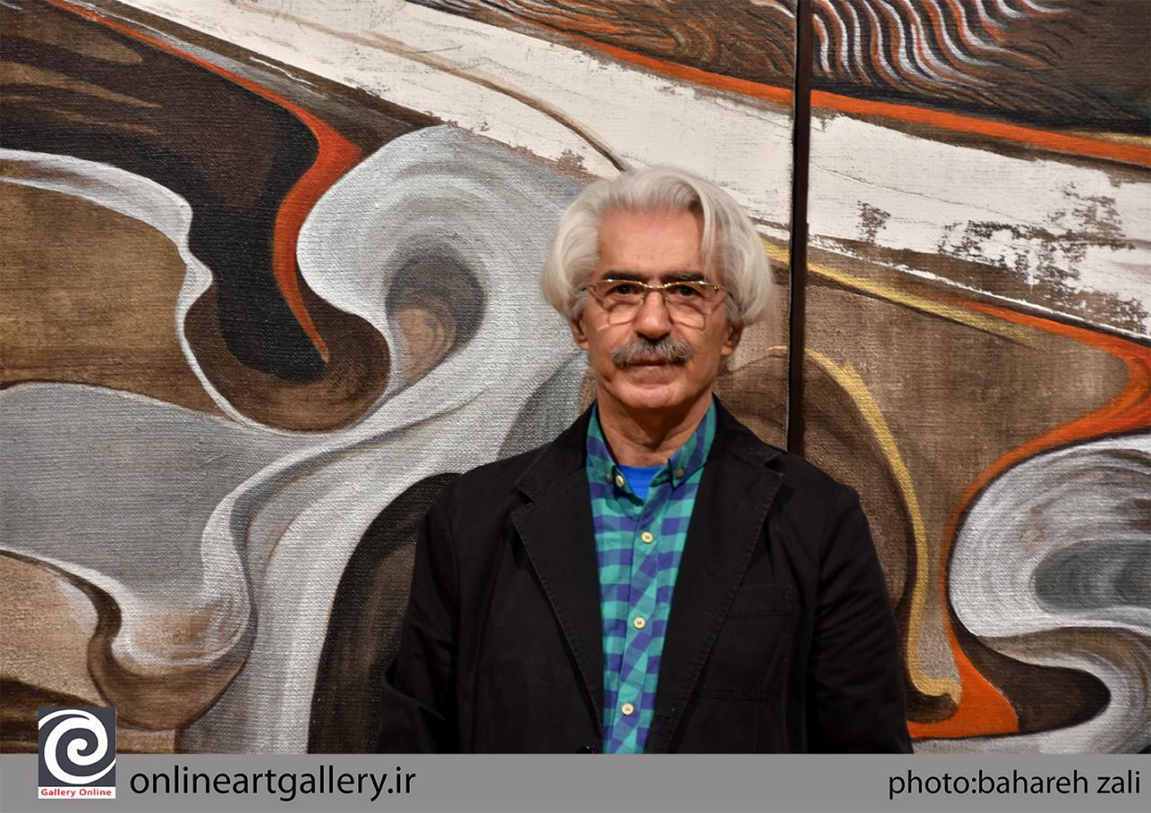 به بهانه نمایش آثار علی فرامرزی در نهمین کارنمای پژوهشی انجمن هنرمندان نقاش ایران