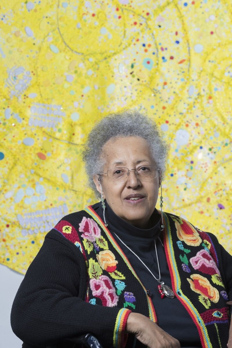 At 76, Howardena Pindell Is Making Deeply Personal Paintings—and Gaining Overdue Acclaim
