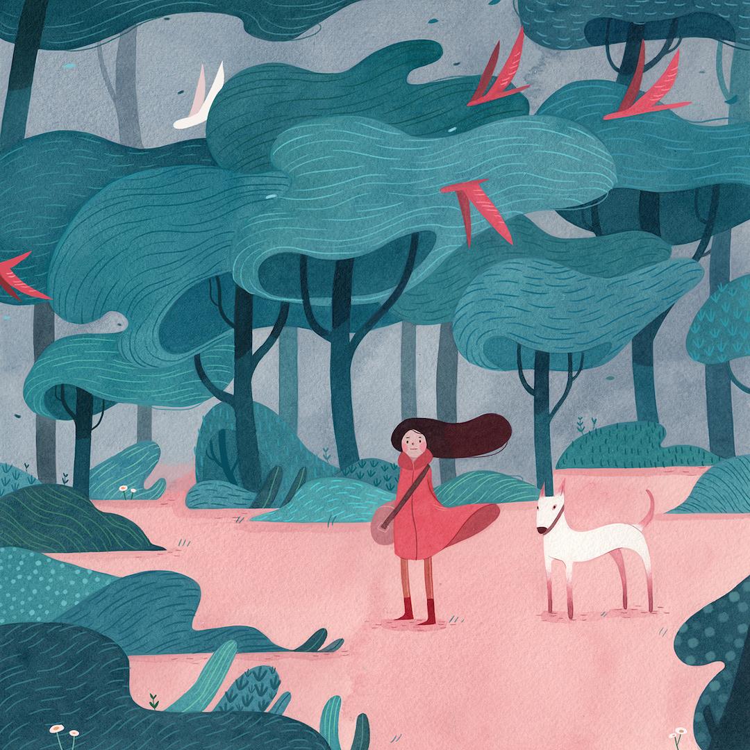 ماجراجویی در جنگل با تصاویر رویایی Vivian Mineker