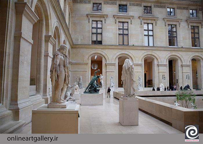 نگاهی به مجسمه های موزه لوور (بخش اول)