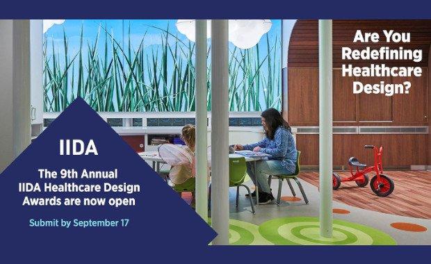 فراخوان رقابت جوایز طراحی بهداشت و درمان IIDA 2020