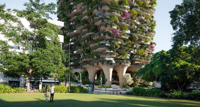 """معماران Koichi Takada از ساختمان بلند """"جنگل شهری"""" رونمایی کردند"""