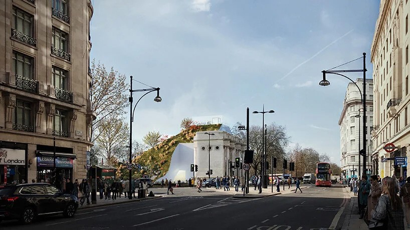 اجرای پروژه marble arch hill در گوشه ای از هاید پارک لندن
