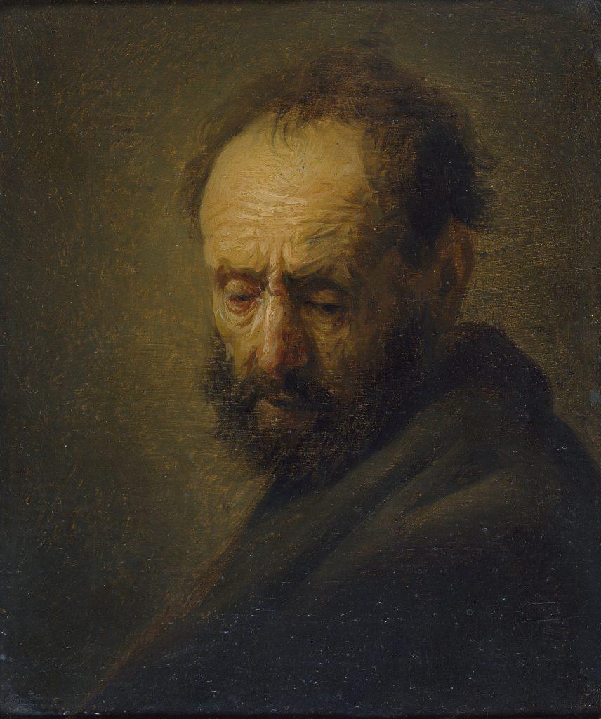 کشف نقاشی رامبراند در زیرزمین یک موزه