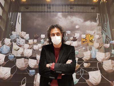 گزارش تصویری دو نمایشگاه همزمان از عباس مجیدی در گالری طراحی هنر