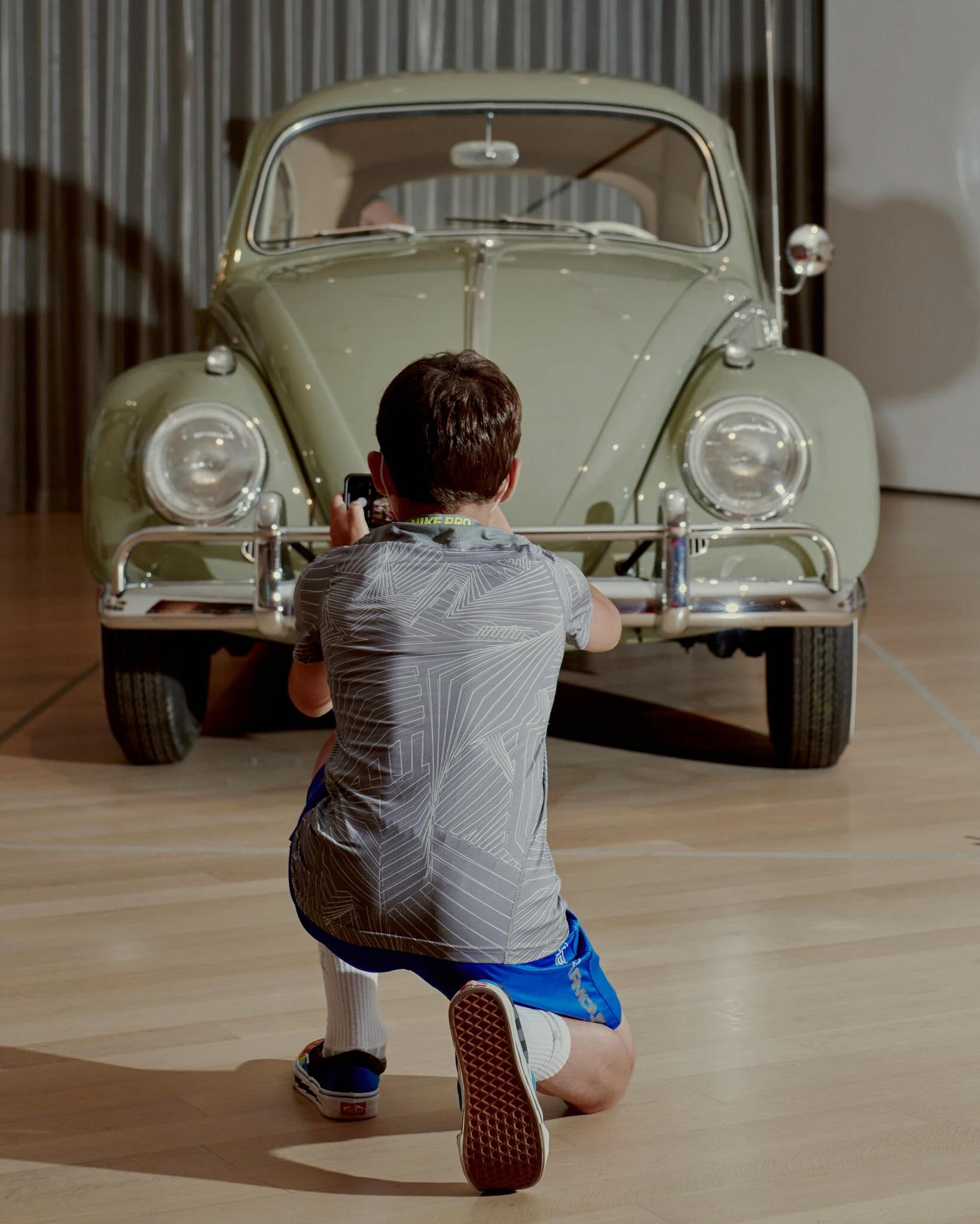 نمایش اتومبیل به مثابه شی هنری در موزه MoMA