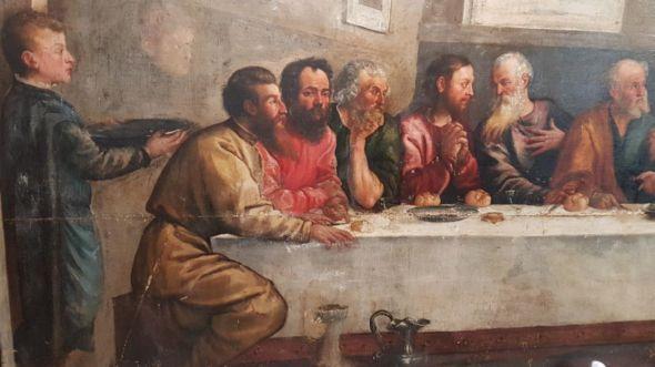 کشف تابلوی نقاشی تیسین در کلیسای لدبری