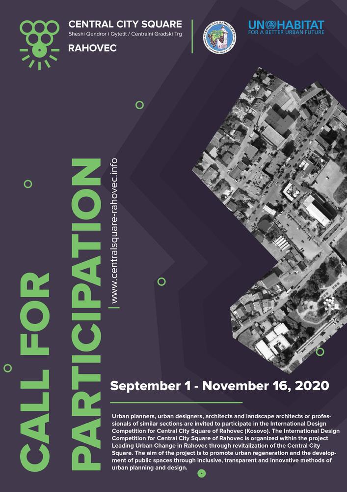 رقابت بین المللی طراحی میدان مرکزی شهر Rahovec