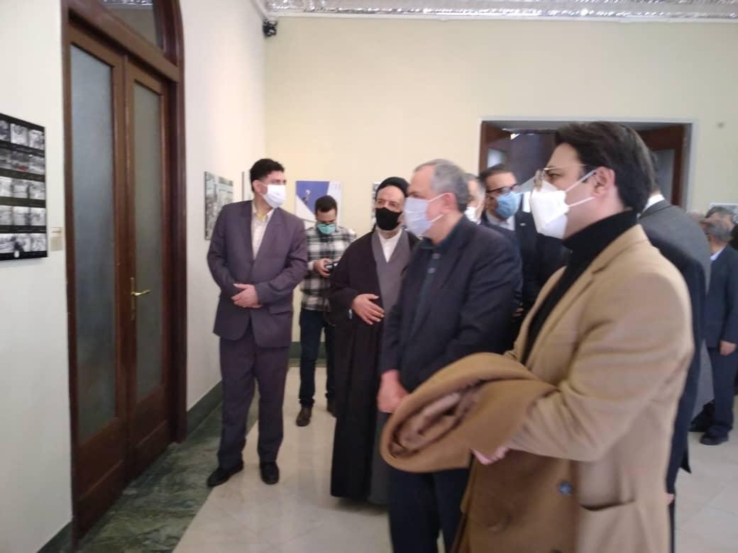 گزارش تصویری نمایشگاه عکس «تاریخ در قاب» در موسسه «صبا»