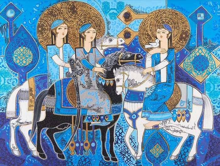 نگاهی به حضور خط در آثار نقاشان