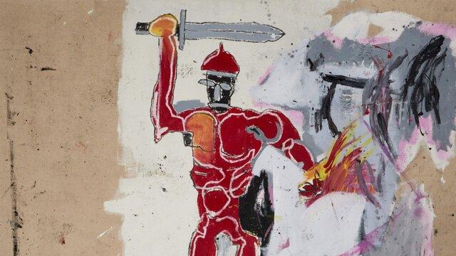 نقاشی چند میلیون دلاری «باسکیا» حراج می شود