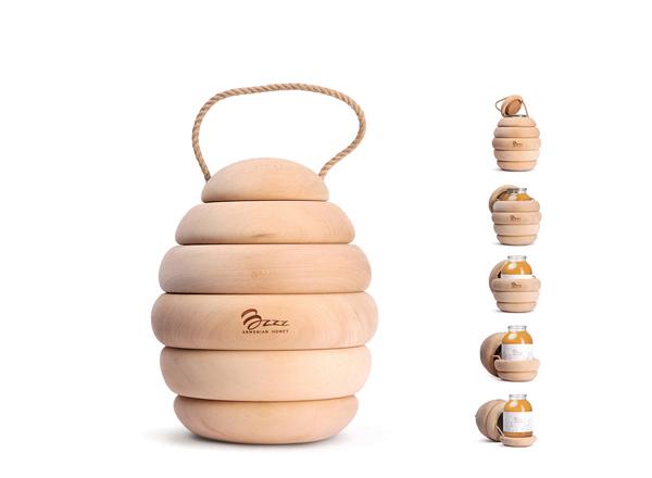 نگاهی به طراحی بسته بندی ظرف عسل