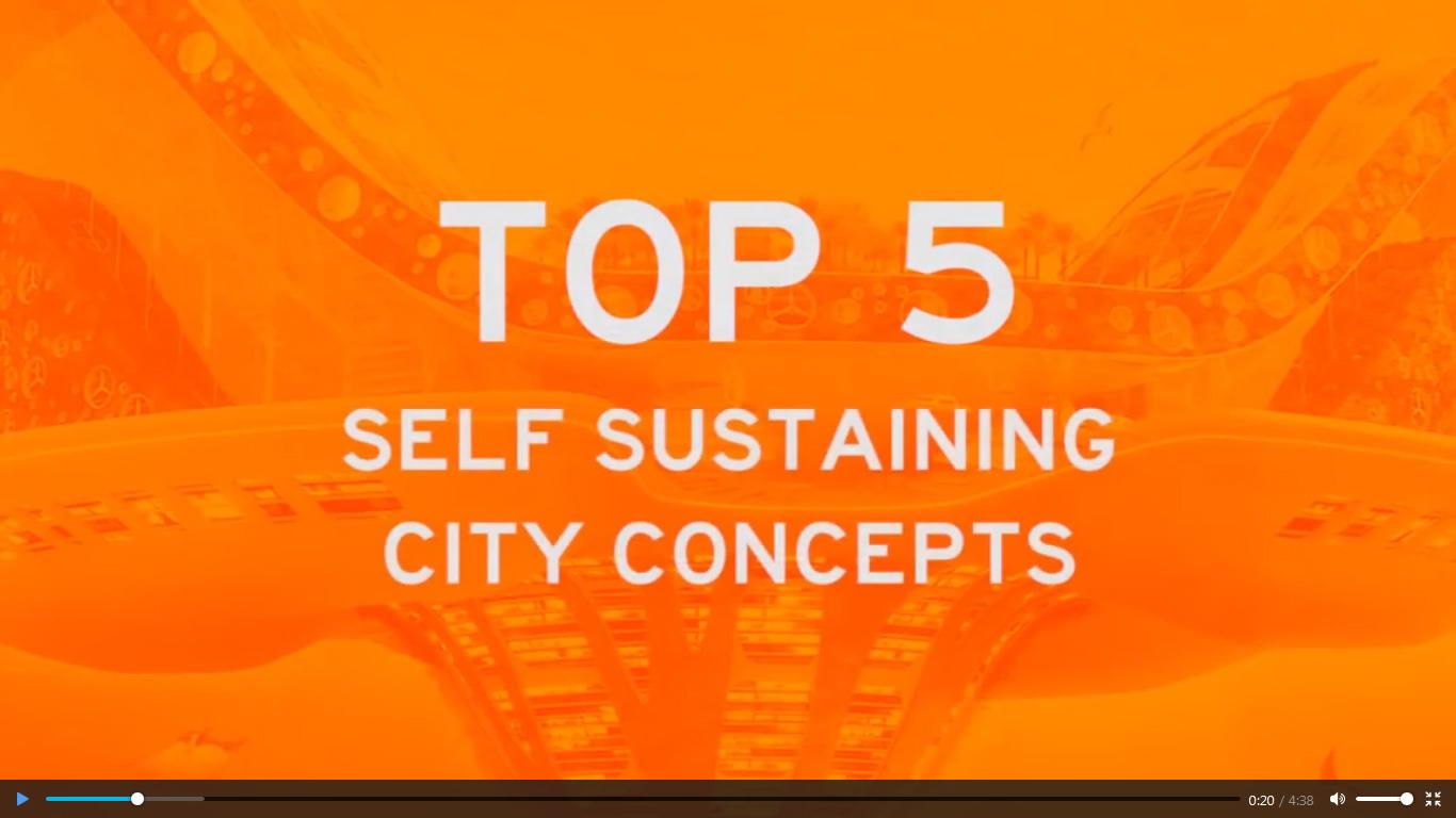 پنج ایده برتر از مفهوم پایداری در شهرهای آینده
