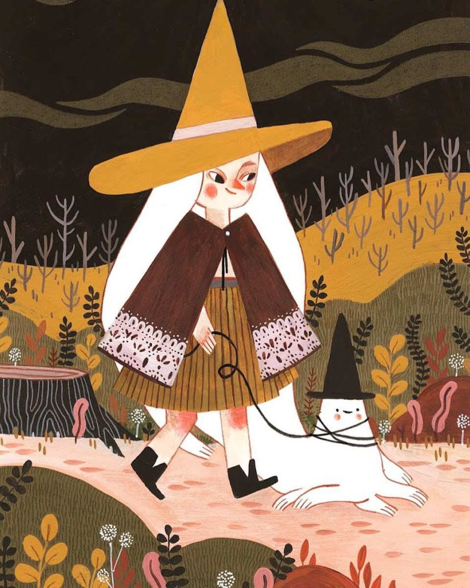 10+ Halloween Illustrations Celebrating the Spookiest Time of Year