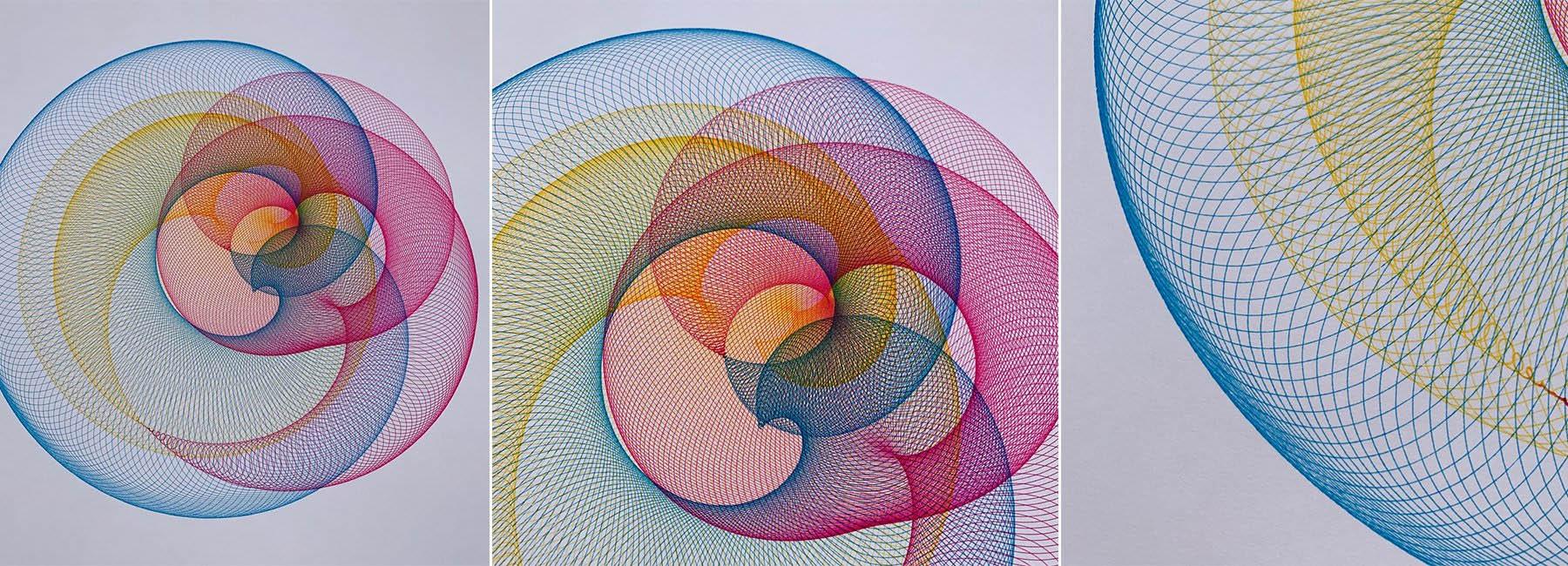 خلق آثار هنری ظریف و در هم پیچیده با ربات های ساخت جیمز نولان
