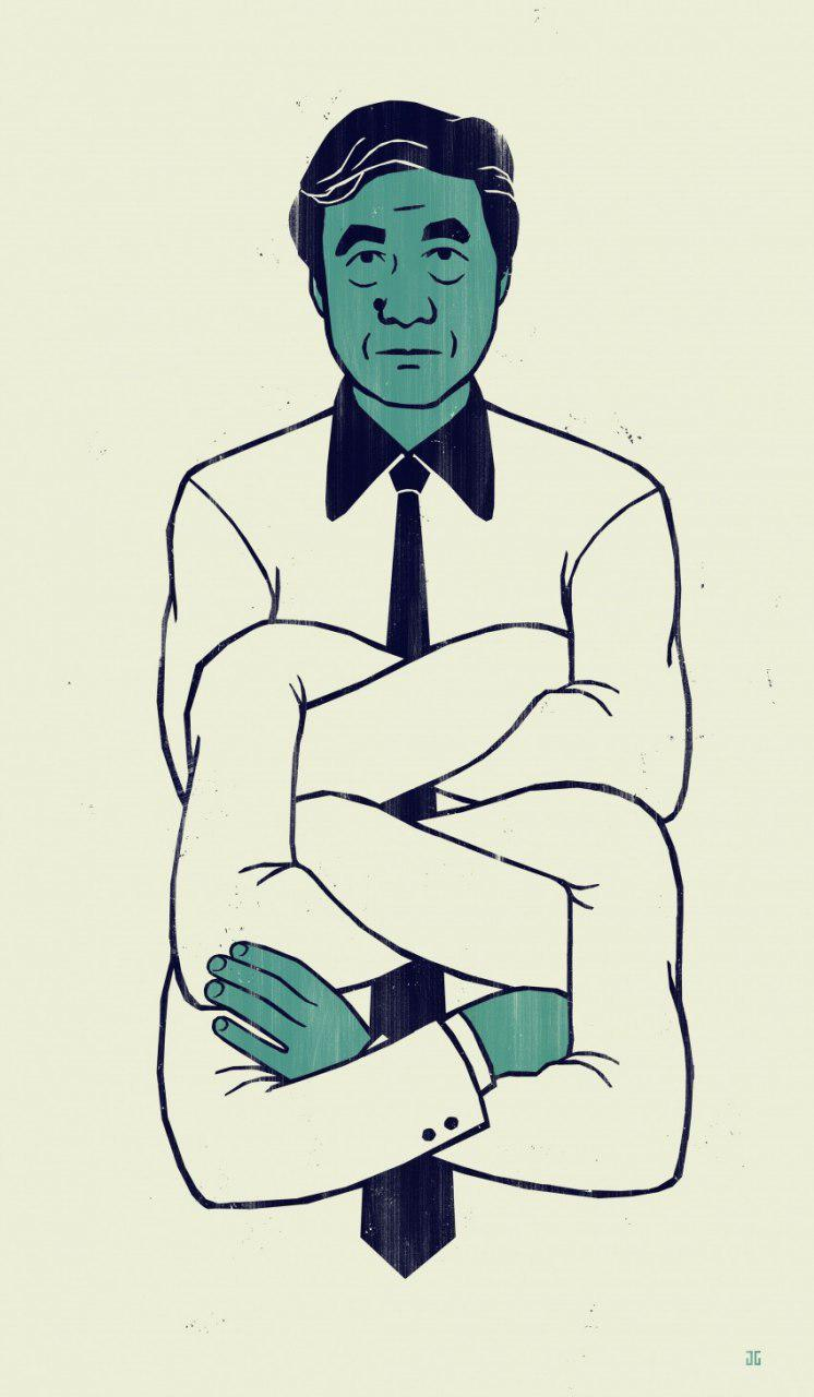 بررسی آثار شیجئو فوکودا با اهتمام به نظریه گِشتالت Gestalt