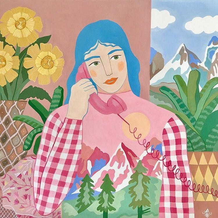 نگاهی به شیوه تصویرسازی شخصیت های زن در آثار Carine Arnakis