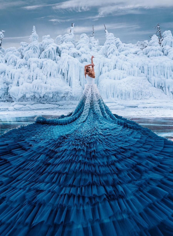 دستکاری جادویی عکس ها توسط Kristina Makeeva