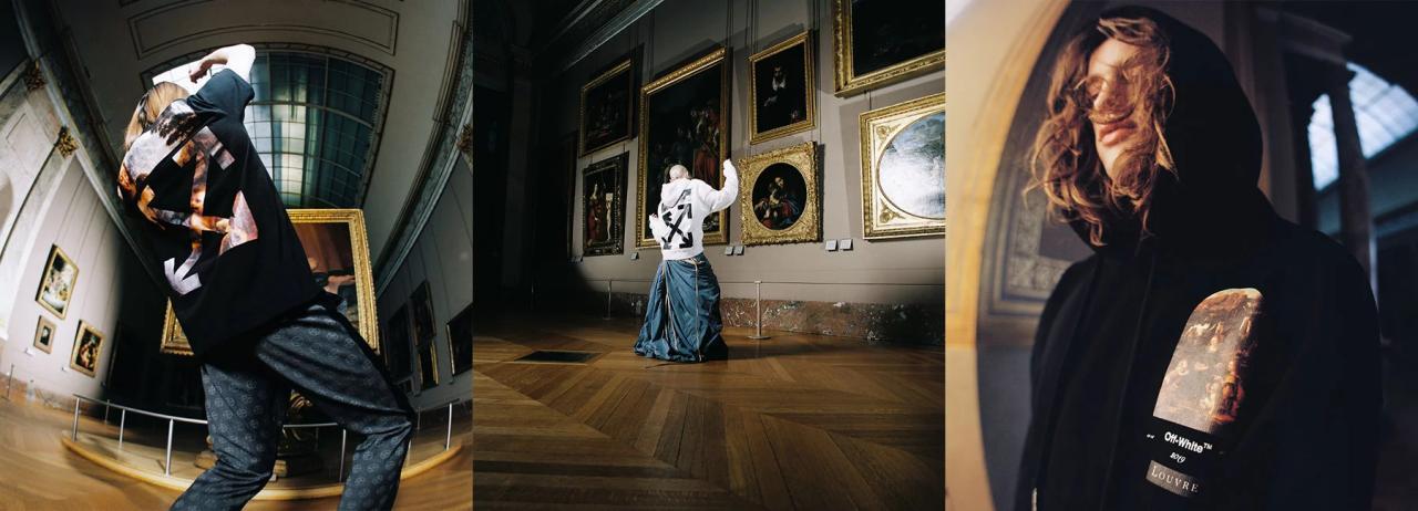 virgil abloh pays homage to leonardo da vinci with musée du louvre capsule collection