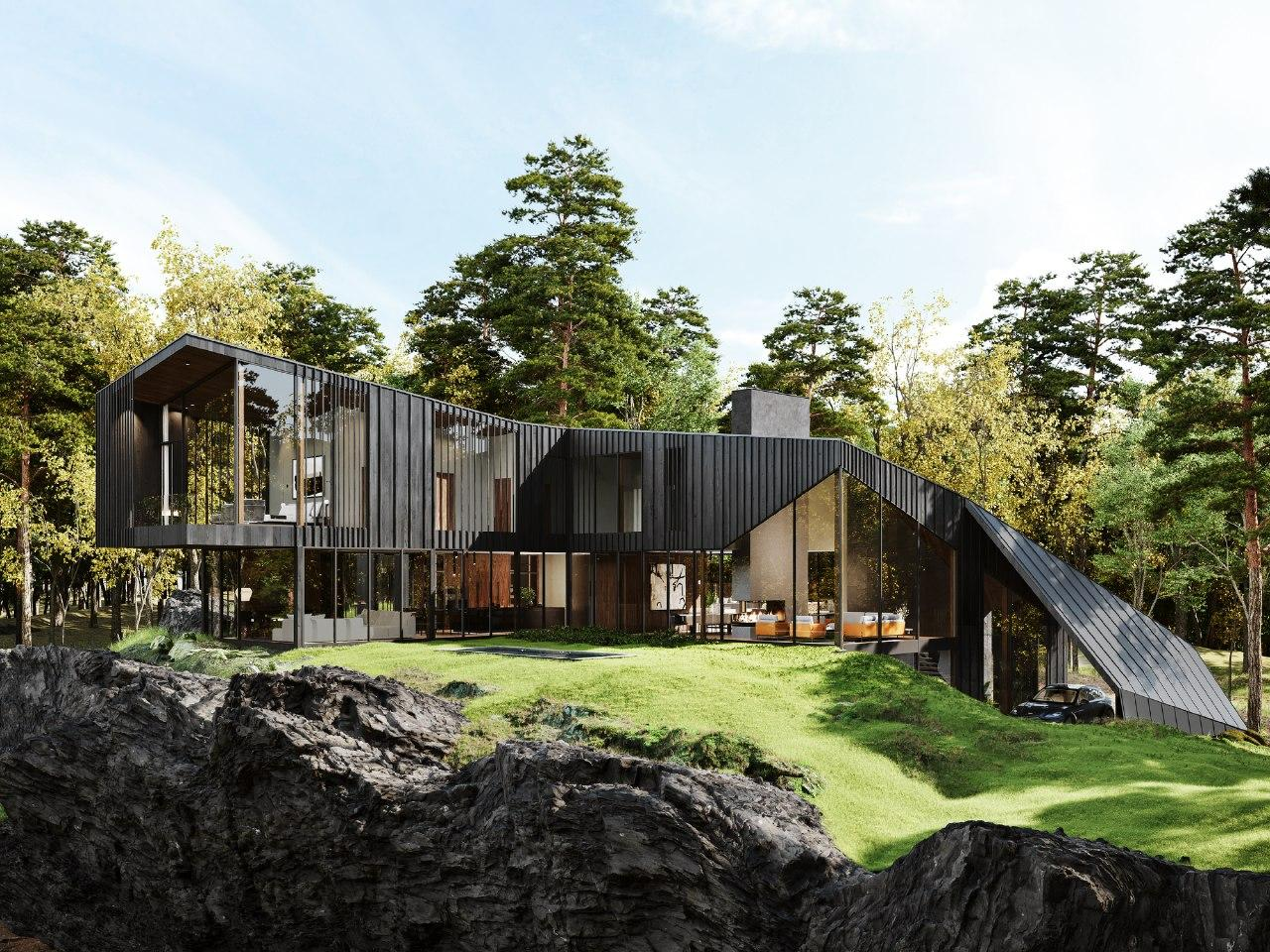 S3 Architecture Collaborates with Aston Martin Design to Create First Residential Estate in New Yorks Hudson Valley