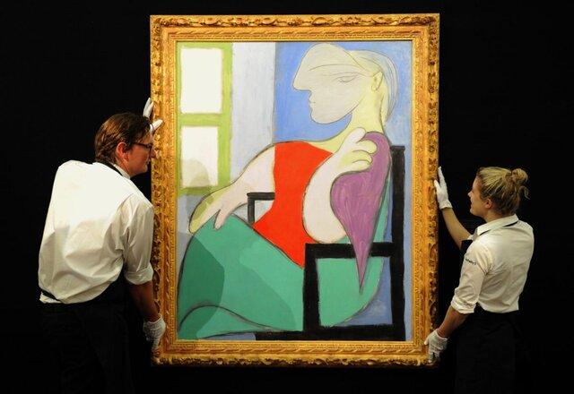 رونق بازار هنر توسط «پیکاسو» و «باسکیا»