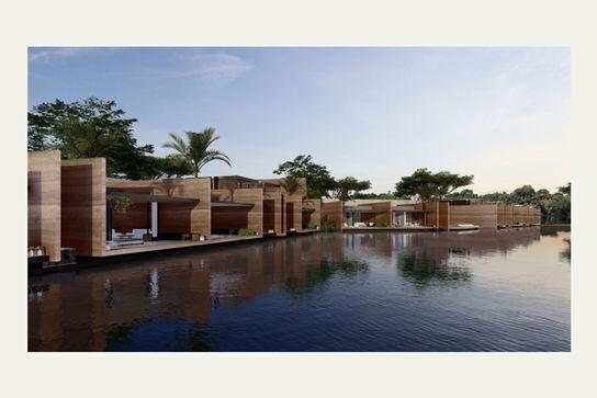طراحی هتل La Reserve در داکار با رویکرد معماری بومی