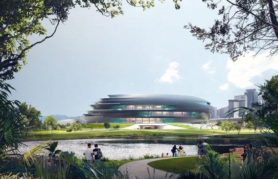 طراحی موزه علم و فناوری توسط معماران زاها حدید