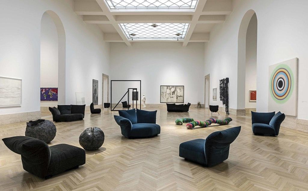 گزارش تصویری از نمایش هنر مدرن در گالری ملی رُم