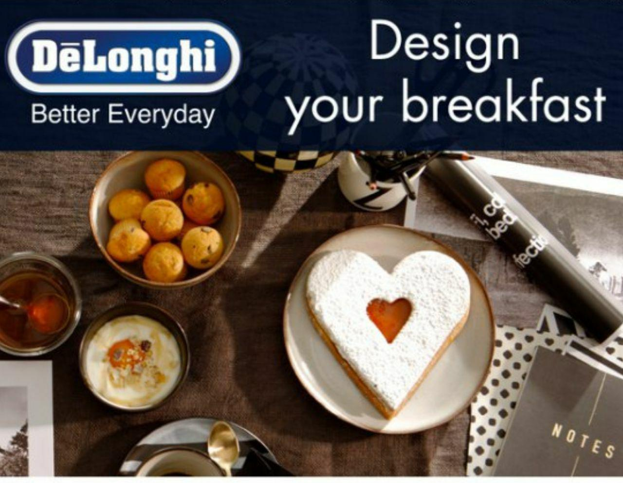 De'Longhi Design Your Breakfast - International call for entries