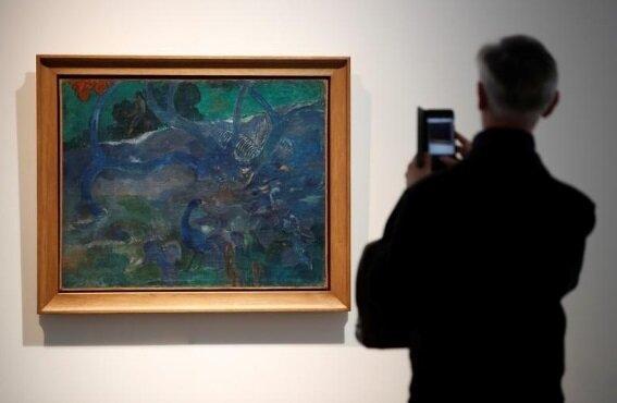 فروش چند میلیونیورویی نقاشی «گوگن»