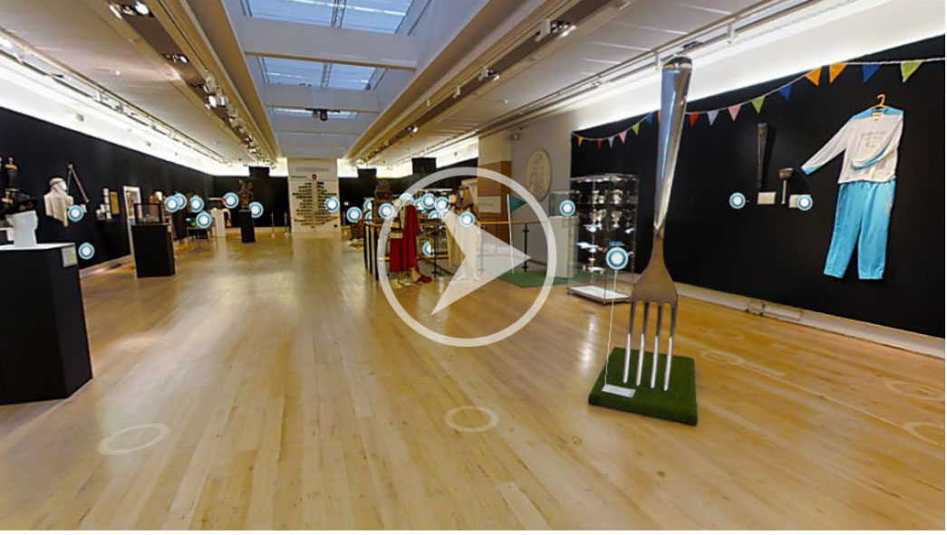 تور مجازی در نمایشگاه سالانه ی حراج کریستیز