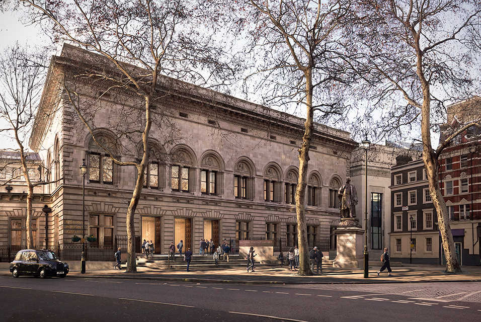 National Portrait Gallery launches public appeal to raise funds for major transformation