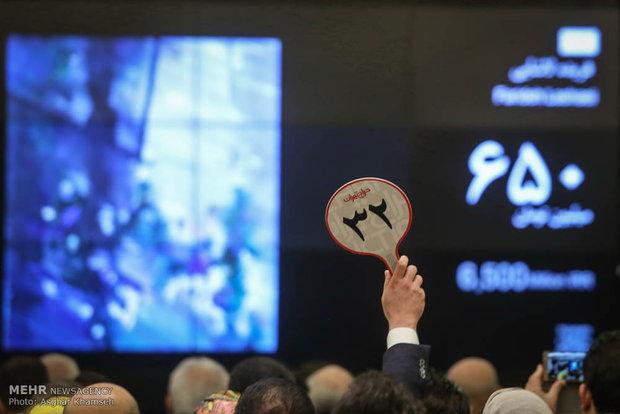 چهاردهمین حراج تهران برگزار شد