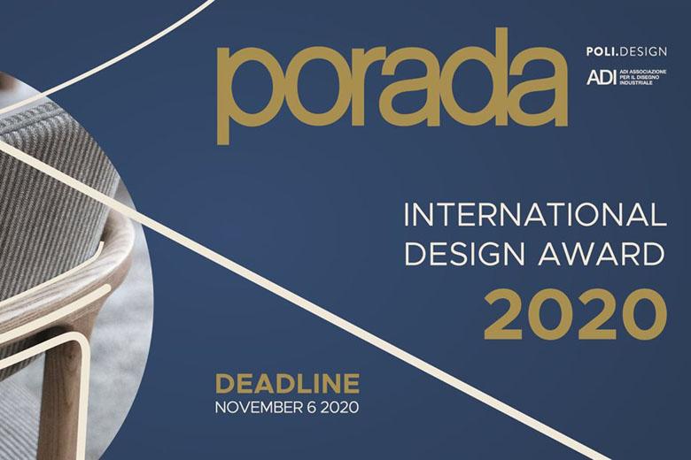 فراخوان جایزه بین المللی طراحیPorada 2020
