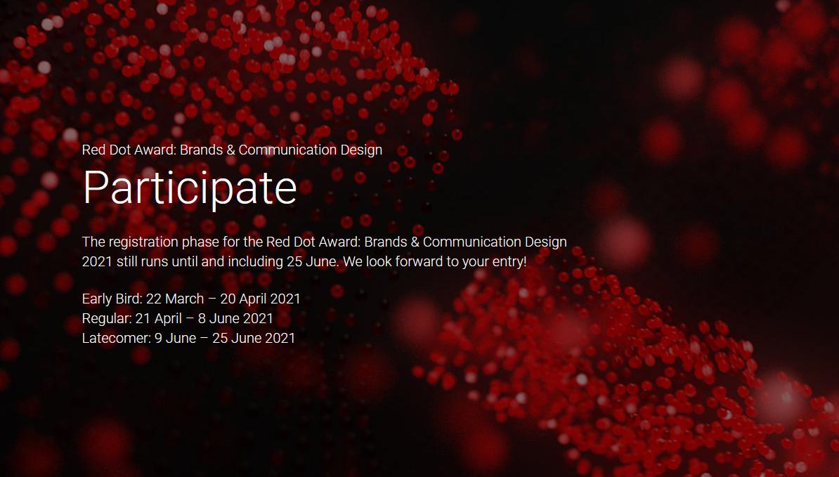 فراخوان رقابت طراحی برند و ارتباطات 2021 Red Dot Award