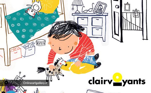 فراخوان رقابت کتاب های مصور کودکان CLAIRVOYANTS