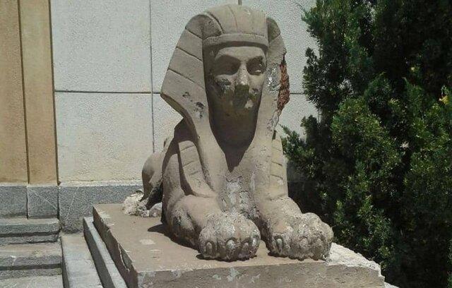 خبرهایی از مرمت مجسمههای کاخ سعدآباد