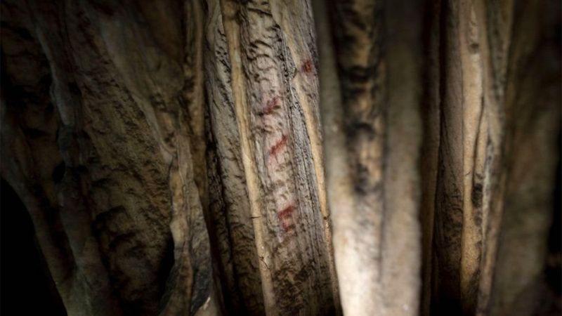 رنگآمیزی غارهای اسپانیا ۶۰ هزارساله است