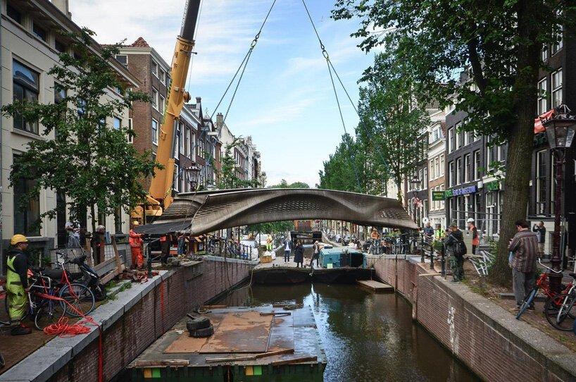 اولین پل پرینت سه بعدی در امستردام