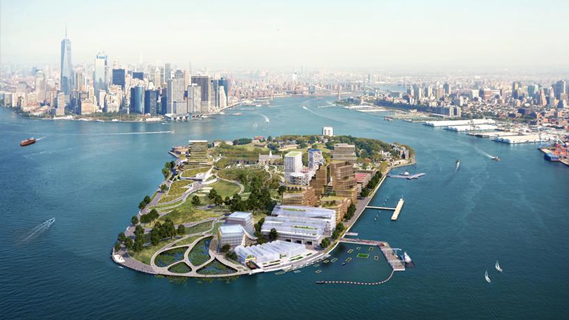 تبدیل جزیره governors island در شهر نیویورک به مرکزی منحصر بفرد در راهکارهای اقلیمی