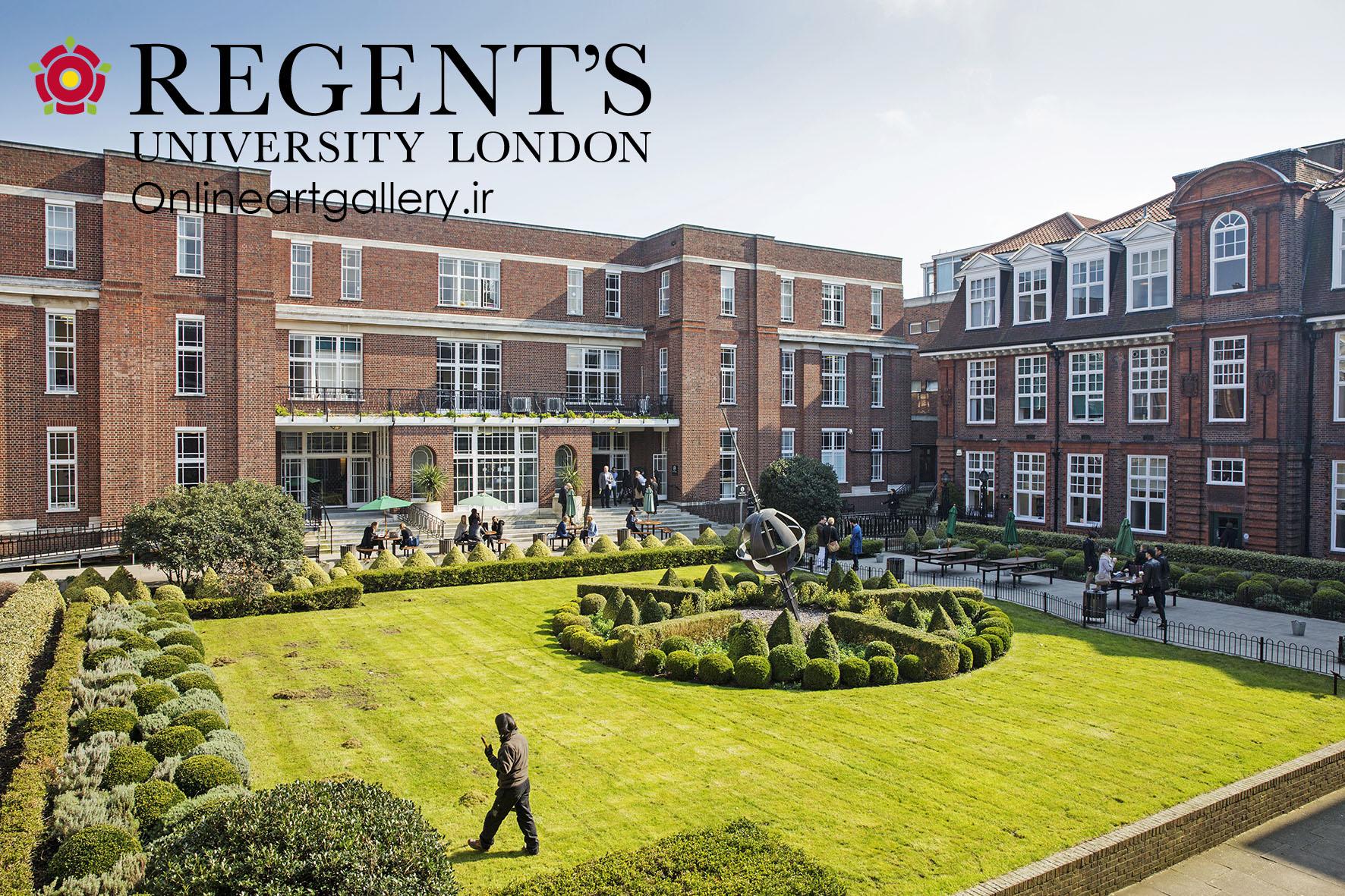 Image result for دانشگاه Regent لندن
