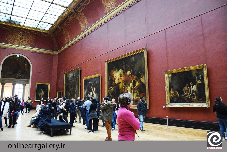 گزارش تصویری آثار موزه لوور پاریس (بخش چهارم)