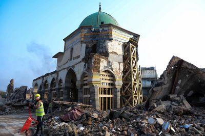 مسجد تاریخی موصل توسط معماران مصری بازسازی می شود