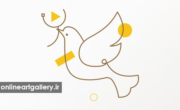 رقابت طراحی گرافیک Peace motion graphics ۲۰۲۰
