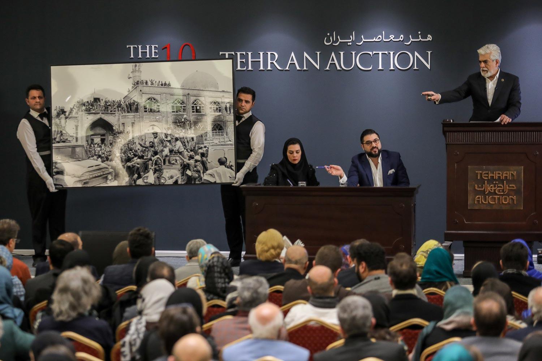 اطلاعیه «حراج تهران» در خصوص برگزاری دوره چهاردهم